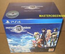 PS4 Sword Art Online: Hollow Realization Collector's Edition New Sealed + DLC