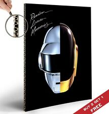 DAFT PUNK RANDOM ACCESS MEMORIES POSTER A4 Photo Print Room Wall Decor GIFT IDEA