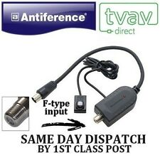 Antiference Flatscreen Magic Eye F-TYPE INPUT - BLACK for SKY,SKY+,SKY HD