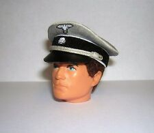 Banjoman 1:6 Scale Custom Made German Cap For Vintage Action Man