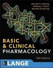 BASIC and CLINICAL PHARMACOLOGY 13th Int'l Edition