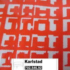 IKEA Karlstad Bezug für Hocker in Husie orange 702.546.92