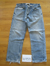 destroyed levi feather 505 grunge jean tag 36x30 meas 34x29 10937F