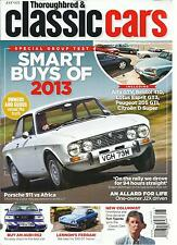 THOROUGHBRED & CLASSIC CARS, AUGUST, 2013(SPECIAL GROUP TEST  SMART BUYS OF 2013