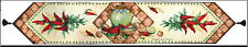 Red Hot Chili Peppers & Southwestern Pottery Tapestry Table Runner ~ CALIENTE!
