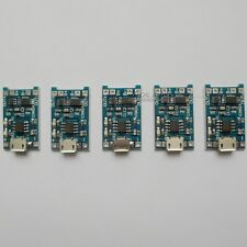 5X 5V 1A USB 18650 Lithium Battery Charging Board Charger Module Protection N41