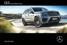 Mercedes GLS Class X166 03 / 2016 catalogue brochure