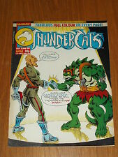 THUNDERCATS #65 11TH JUNE 1988 BRITISH WEEKLY FREE POSTER GIFT INCLUDED