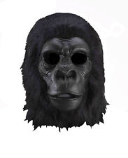 Adult Latex Full Head Gorilla Great Ape Monkey Bigfoot Costume Mask