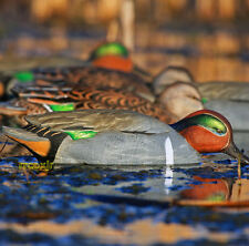 AVERY GREENHEAD GEAR GHG PRO GRADE GREEN-WINGED TEAL DUCK DECOYS WEIGHTED KEEL!