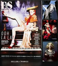PETITE MELLER BARBARIC KATHERINE RYAN JAMES BOND SPECIAL ES MAGAZINE OCT 2015
