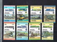 St Vincent/Grenadines 1984 Satz 284/99 Lokomotiven/Trains schon Postfrisch