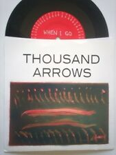 """Thousand Arrows When I Go 7"""" Vinyl Record non lp songs! st ives indie rock! NEW!"""