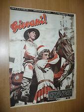 RIVISTA GIOVANI! N.13 1 LUGLIO 1951 PALIO SIENA FANTINO GANASCIA MILAN CAMPIONE