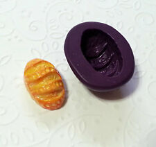 Silicone Mold Miniature Baguette Mold (23mm) - Polymer Clay Dollhouse Fake Food