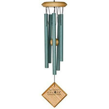 Woodstock Mercury Wind Chime Verdigris Rust Proof Beautiful Tone Garden Chime