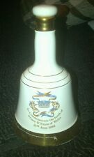 Bell's Scotch Whisky Bottle Decanter by Wade - Prince William's Birth 1982