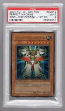 2004 YU-GI-OH Rise/Destiny 1st PERFECT MACHINE KING tcg yugioh #en012 PSA 9