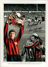 Firmato Tony BOOK Neil Young Manchester City 1969 Association Cup FOTO