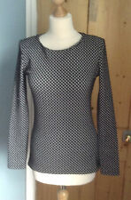 Stunning polyester/viscose top by Reiss size S