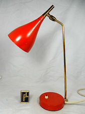 "Beautiful 50´s "" Stilnovo ""  design table lamp # schöne 50er Jahre Tisch Lampe"