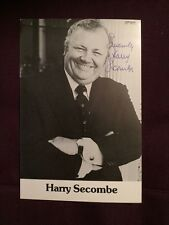Harry Secombe The Goon Show Autographed Signed Photo