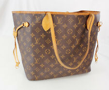 Authentic Louis Vuitton Neverfull MM Tote Monogram Purse Shoulder Bag - France