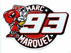 Marc Marquez 93 ANT decals custom graphics stickers Moto gp x 4 pieces SMALL