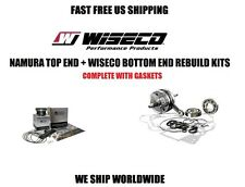NAMURA TOP PISTON KIT + WISECO CRANKSHAFT BOTTOM END ENGINE REBUILD RAPTOR 660