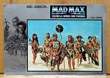 MAD MAX OLTRE LA SFERA DEL TUONO fotobusta poster Mel Gibson Beyond Thunderdome