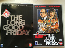 Bob Hoskins LONG GOOD FRIDAY ~ Rare Anchor Bay UK DVD w/ Extras + Slipcover