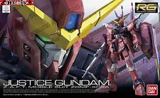 Justice Gundam RG 09 Real Grade 1/144 Model Figure Kit Bandai Seed Destiny
