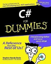 C# For Dummies For Dummies Computers