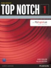 Top Notch 1 Student Book with MyEnglishLab (3rd Edition), New