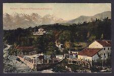 BELLUNO CITTÀ 62 STAZIONE di PISCICOLTURA - FISTERRE Cartolina viaggiata 1908