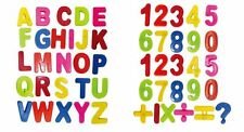 COLORFUL ABC + MATH ALPHABET/ NUMBERS FRIDGE MAGNETS LETTER MAGNETIC 52 pc