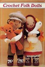 Crochet Folk Dolls  Vintage Patterns  Annie's Attic
