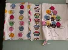 IKEA CUPCAKE CUP TOWEL KITCHEN TOWEL SET NEW