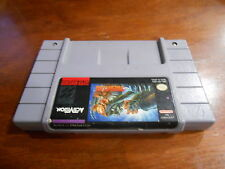 ALIEN VS PREDATOR Super Nintendo SNES Game Cart Tested