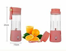 NEW Small Whirlwind Rechargeable Electric Juicer,  Rose Red