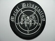 METAL DEVASTATION    EMBROIDERED PATCH