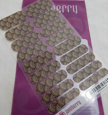 Jamberry Victorian Lace A155 Heat Activated Nail Wrap (Full Sheet ) Retired