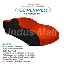 COVERWELL Designer RB-01 Waterproof Custom Fit Car Body Cover For Ford Fiesta