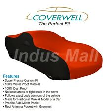 COVERWELL Designer RB-01 Waterproof Custom Fit Car Body Cover Tata Manza
