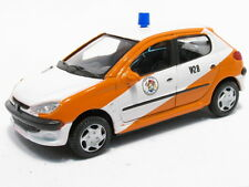 Peugeot 206 - Brandweer Belgie (Fire)  BY Cararama  1.43 model car  refGG16