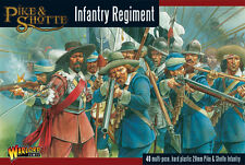**BNIB** WARLORD GAMES PIKE AND SHOTTE INFANTRY REGIMENT