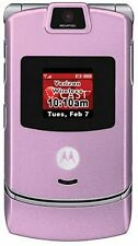 GREAT Motorola RAZR V3m(VERIZON) No Contract 3G Camera MP3 GPS Cell Phone Pink