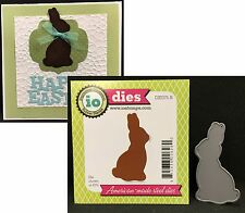 Impression Obsession Dies Chocolate Bunny Die DIE075-E Easter Holidays Baby Zoo