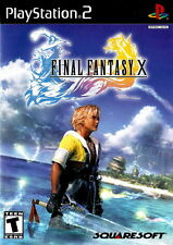 "Playstation 2  PS2 FINAL FANTASY X  Box Cover Photo Poster Decor ""NO GAME"""