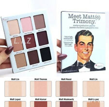 The Balm Meet Matt(e) Trimony. Eye Shadow Palette With Mirror Set B372